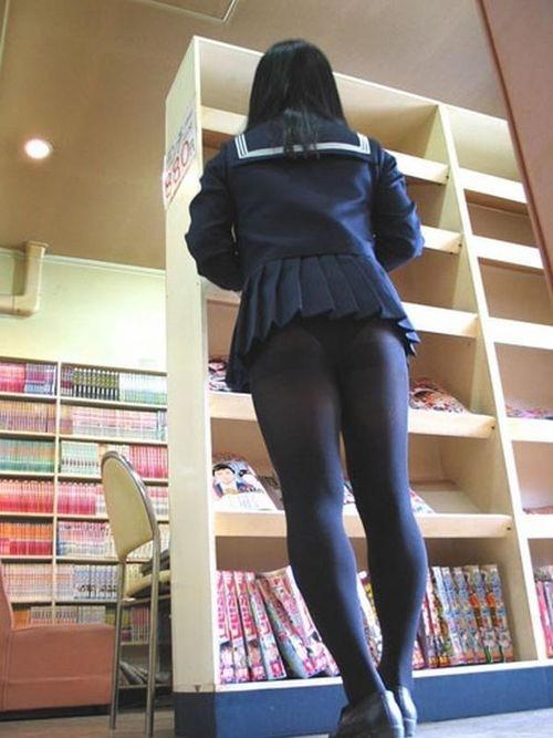 生足も好きだけどJKの黒パンスト画像なんてどうでしょう!!! NH4xYRr