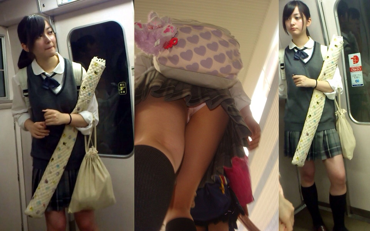 電車で見つけたエロ可愛いJKガチ盗撮wwwwwwww 9QNVHfW