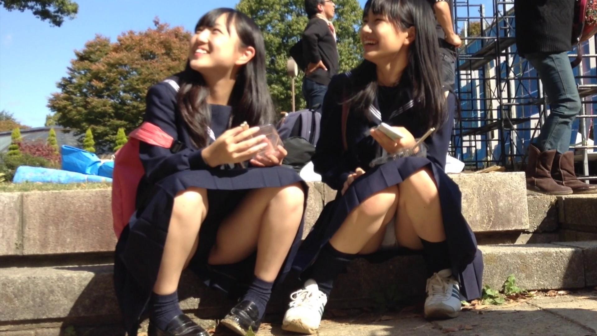こんなJK達と手を繋いで通学する青春を送りたかった陰キャの妄想街撮り画像wwwwwwww aod7rEB