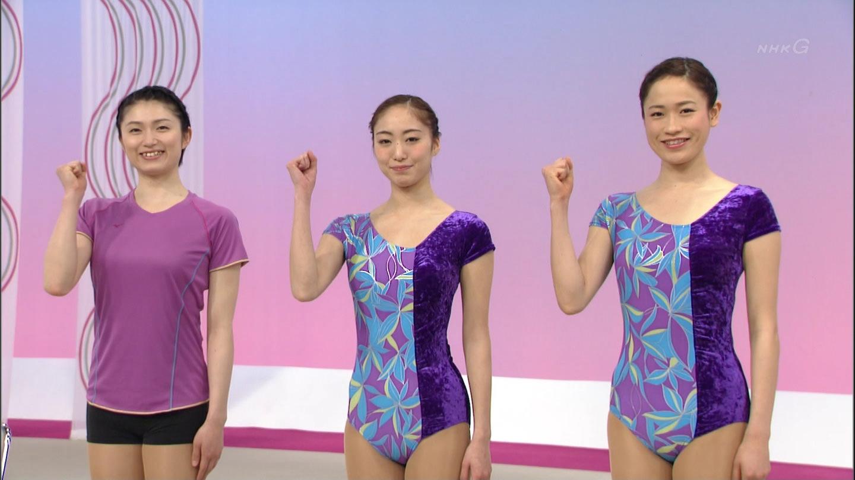 NHKテレビ体操のお姉さん、みんなムチムチだからエロ目線のキャプ画像wwwwwww 03 1