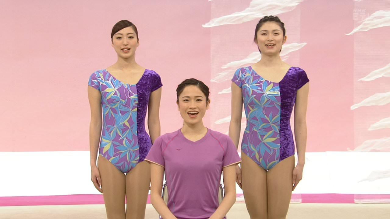 NHKテレビ体操のお姉さん、みんなムチムチだからエロ目線のキャプ画像wwwwwww 04 1