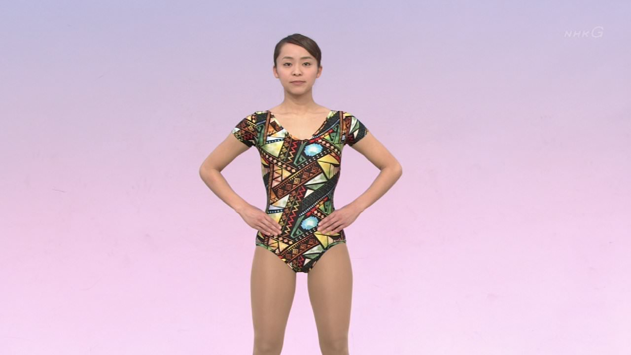 NHKテレビ体操のお姉さん、みんなムチムチだからエロ目線のキャプ画像wwwwwww 06 1