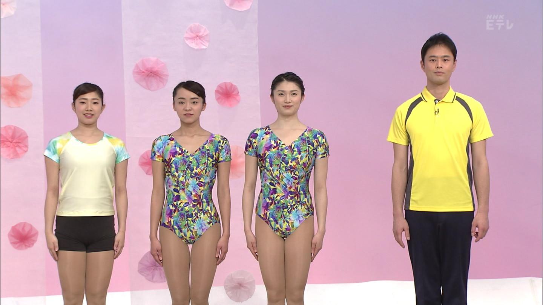 NHKテレビ体操のお姉さん、みんなムチムチだからエロ目線のキャプ画像wwwwwww 07 1