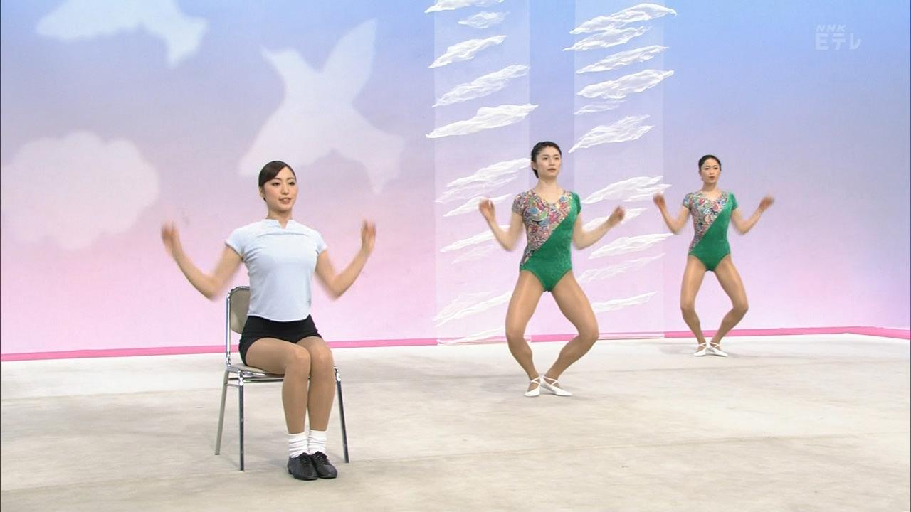 NHKテレビ体操のお姉さん、みんなムチムチだからエロ目線のキャプ画像wwwwwww 08 1