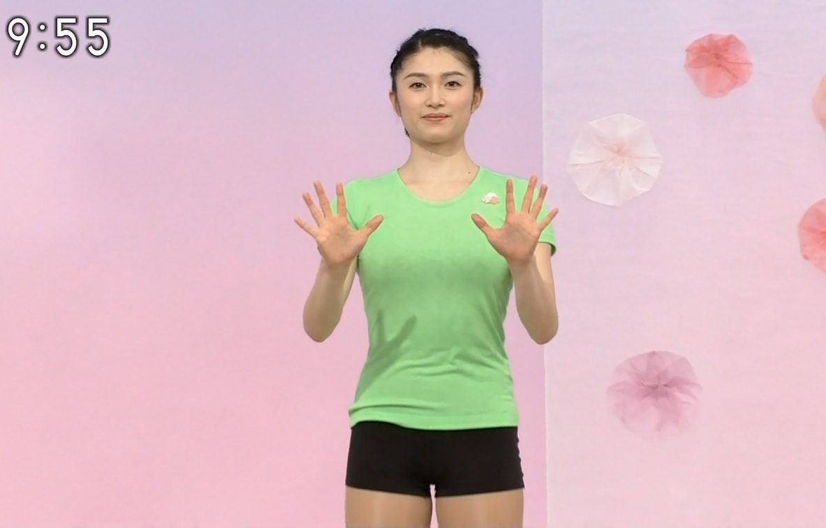 NHKテレビ体操のお姉さん、みんなムチムチだからエロ目線のキャプ画像wwwwwww 10 1