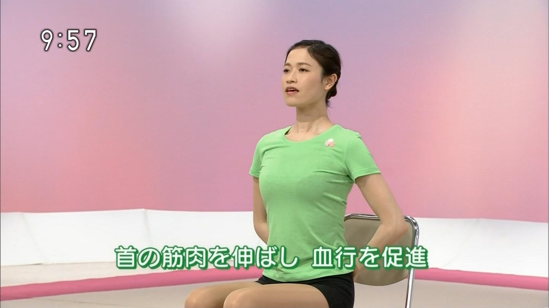 NHKテレビ体操のお姉さん、みんなムチムチだからエロ目線のキャプ画像wwwwwww 11 1
