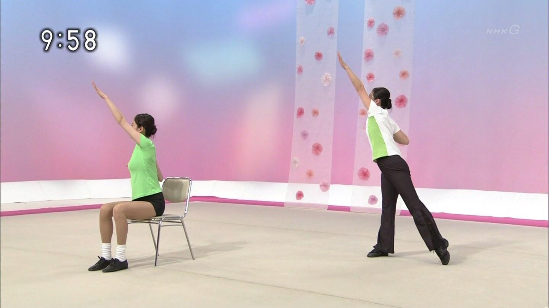 NHKテレビ体操のお姉さん、みんなムチムチだからエロ目線のキャプ画像wwwwwww 13 1