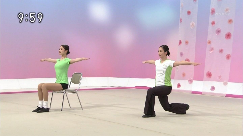 NHKテレビ体操のお姉さん、みんなムチムチだからエロ目線のキャプ画像wwwwwww 14 1