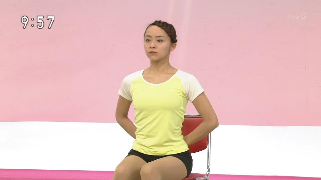 NHKテレビ体操のお姉さん、みんなムチムチだからエロ目線のキャプ画像wwwwwww 16 1