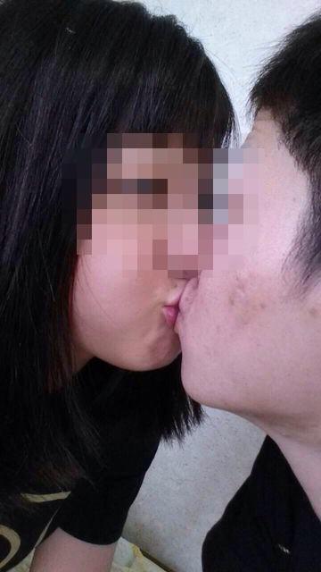付き合いたてラブラブカップルのキス画像wwwwwww 2804