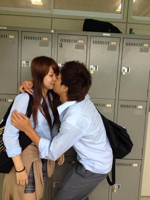付き合いたてラブラブカップルのキス画像wwwwwww 2821