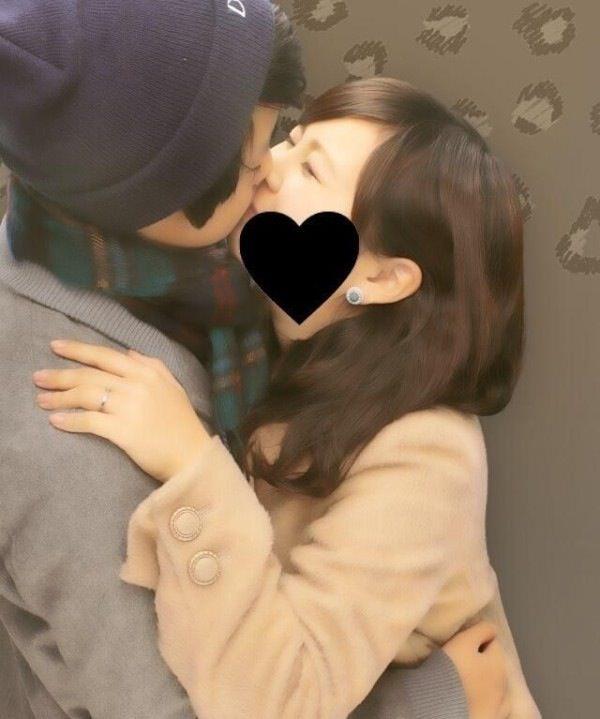 付き合いたてラブラブカップルのキス画像wwwwwww 2824