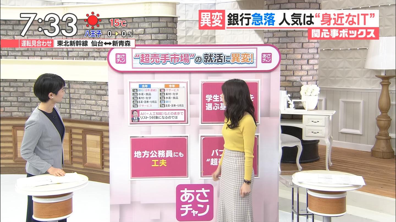 宇垣美里アナ(26)の着衣おっぱいデカ過ぎじゃない????????? file1519943630778