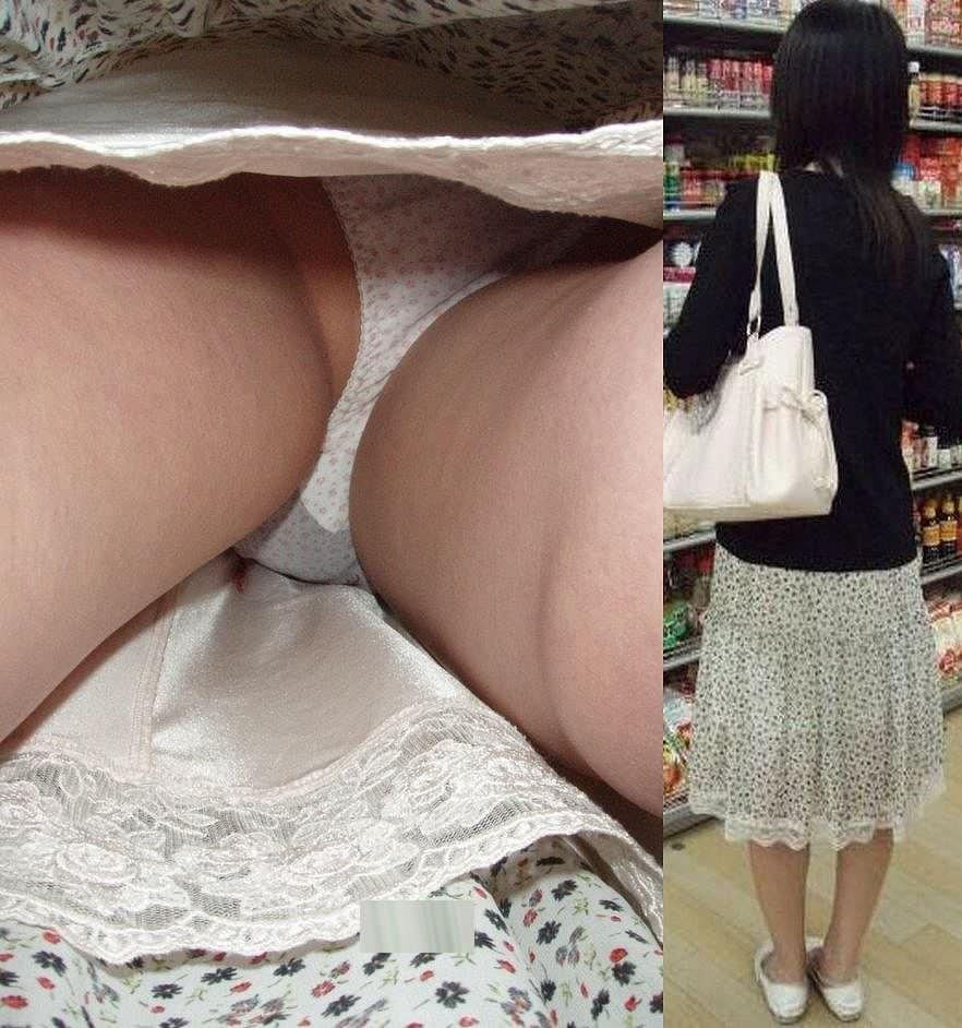 綺麗なお姉さんを逆さパンチラ隠し撮り!!!僕の股間がもっこり勃起不可避wwww 18110