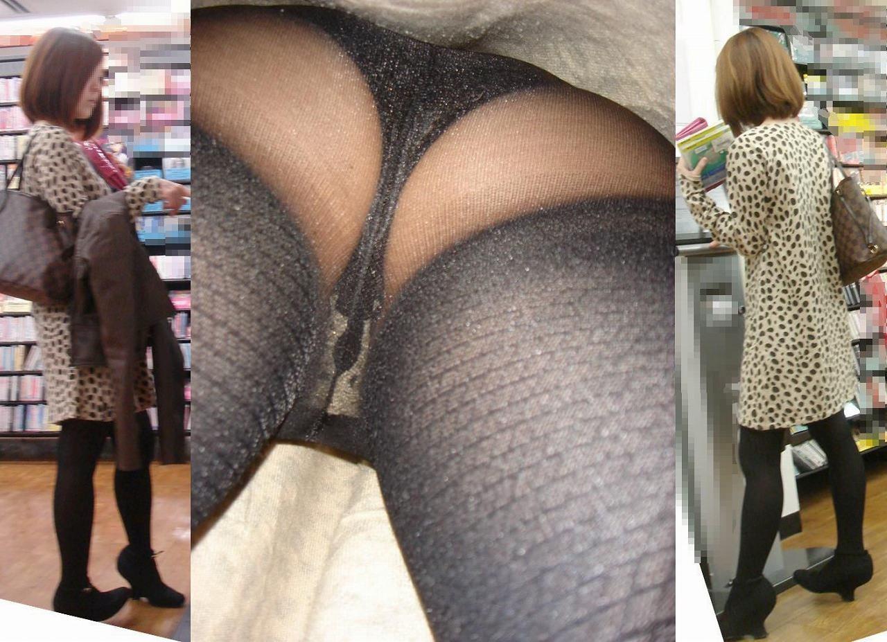 OLや女子大生の私服のスカートの中をパシャリ!!!逆さパンチラのエロさは異常www 2165
