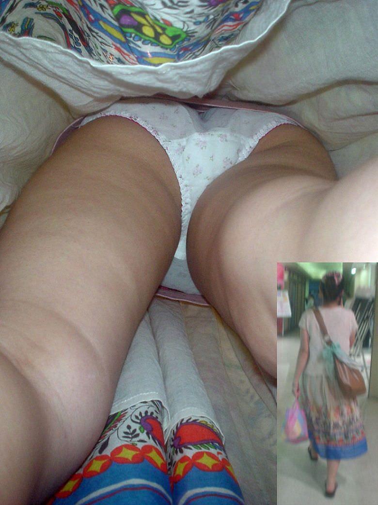OLや女子大生の私服のスカートの中をパシャリ!!!逆さパンチラのエロさは異常www 2182