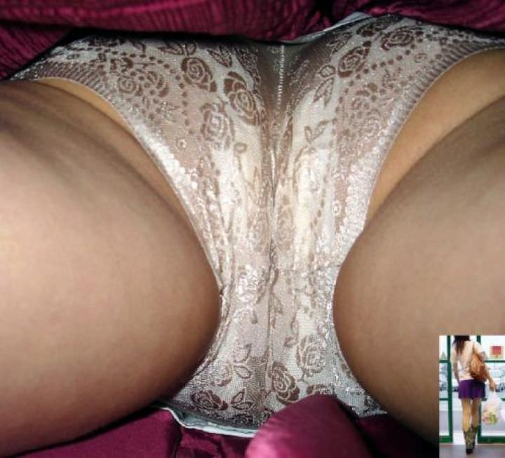 OLや女子大生の私服のスカートの中をパシャリ!!!逆さパンチラのエロさは異常www 2190