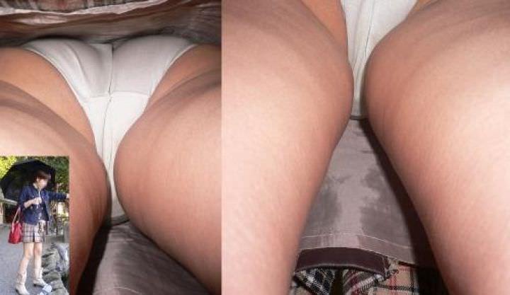 OLや女子大生の私服のスカートの中をパシャリ!!!逆さパンチラのエロさは異常www 2197