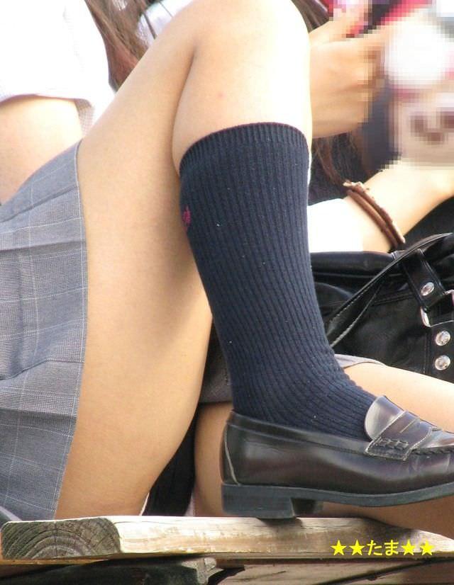女子高生は50%太ももで出来ていると言う証拠画像がこちらwwwwwwwww DkMuwgn