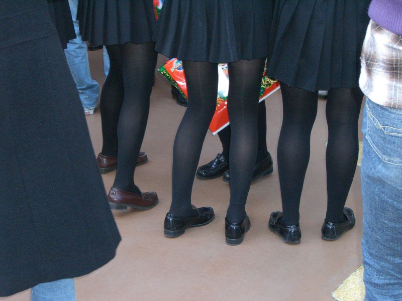 黒いパンスト履いてるエロギャル画像!!!!マジでエッチだぁーwww PoJIT29