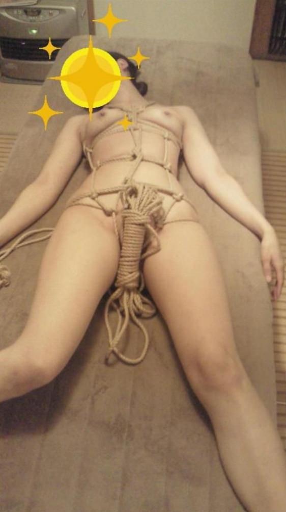 SMプレイに乳首ビンビンのおっきして感じまくり彼女wwwww 2864