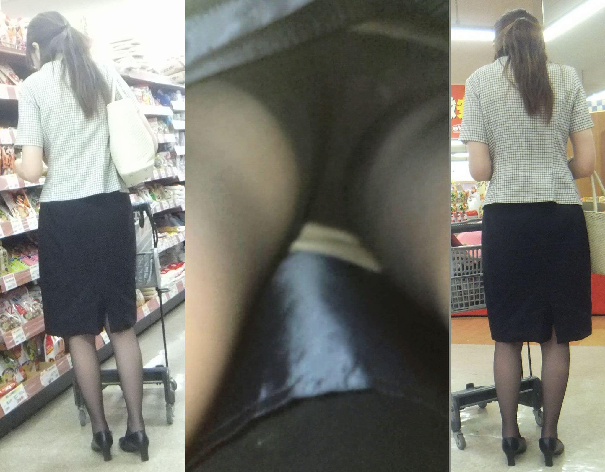 僕の大好きお姉さんのパンツが見たいwwwwガッツリ逆さパンチラ盗撮画像www 2972