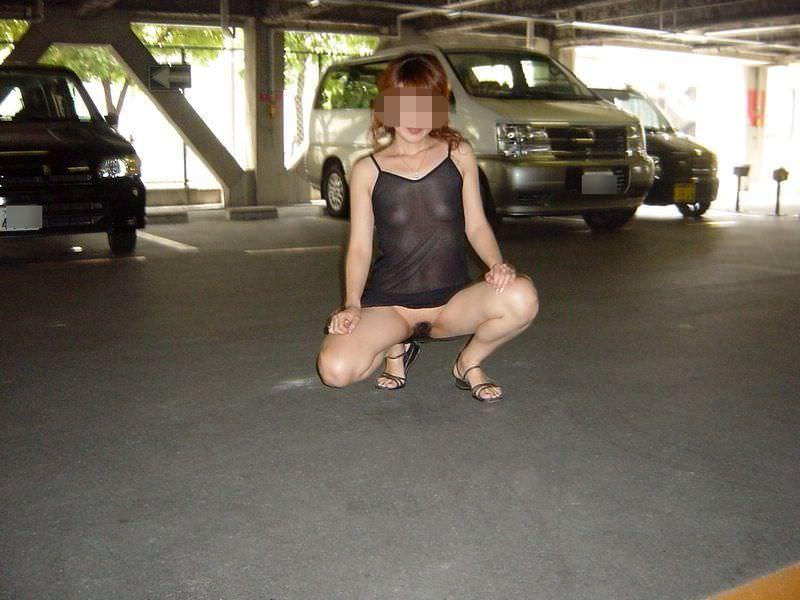 刺激の無い日常に飽きてしまった熟女が、お外でおっぱいオマンコ露出してるぞぉーwww 0352