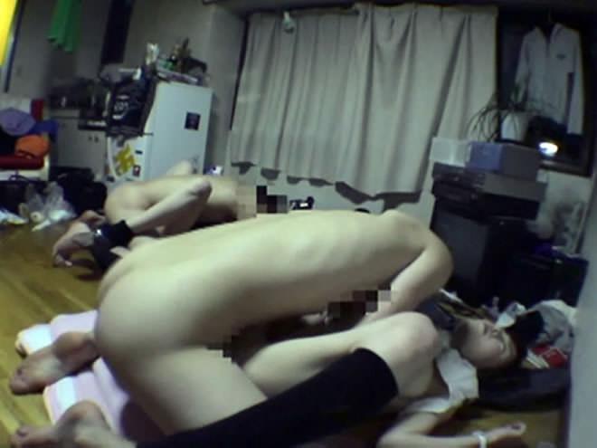 宅飲みで泥酔した友達のJD!睡眠薬で爆睡中だからいたずらセックスし放題www 1616