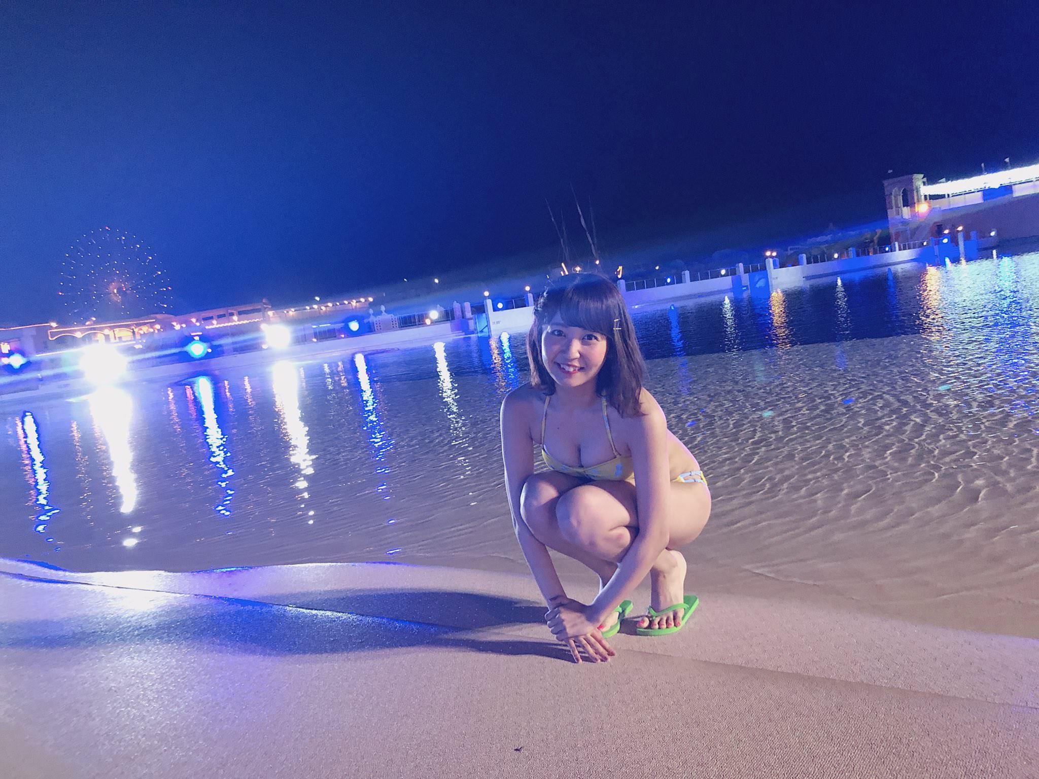 素人の女の子のインスタ画像っぽい芸能人の水着画像wwwwwww Vmj5yQk