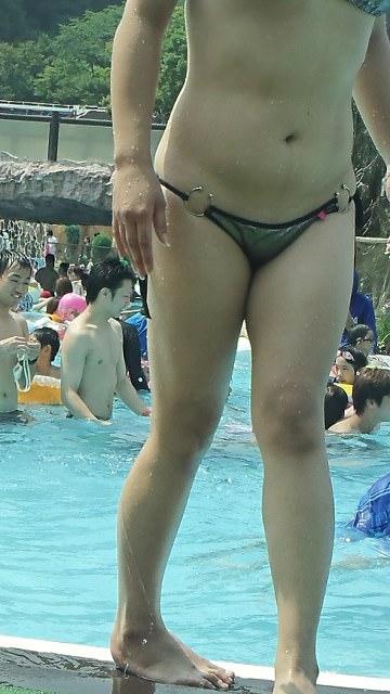 夏の水着ギャルって最高だよなぁーwwwセクシーでちんこビンビンですよーwww 2706