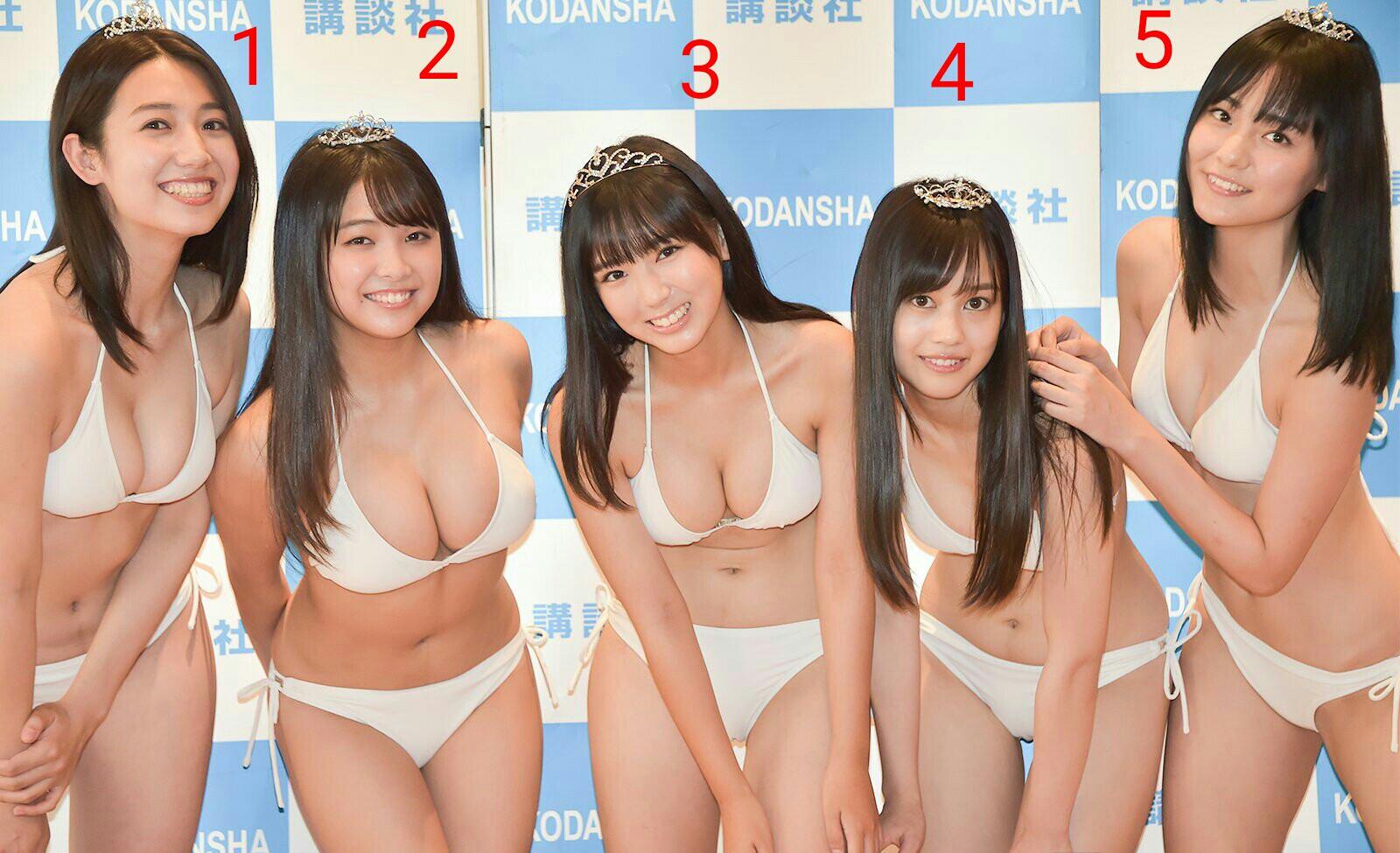 この5人の美少女で、お前らはどうせおっぱい基準で選ぶんだろ? ????? d2jIlco