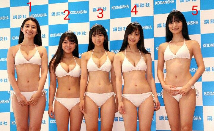 この5人の美少女で、お前らはどうせおっぱい基準で選ぶんだろ? ????? ppkWT20