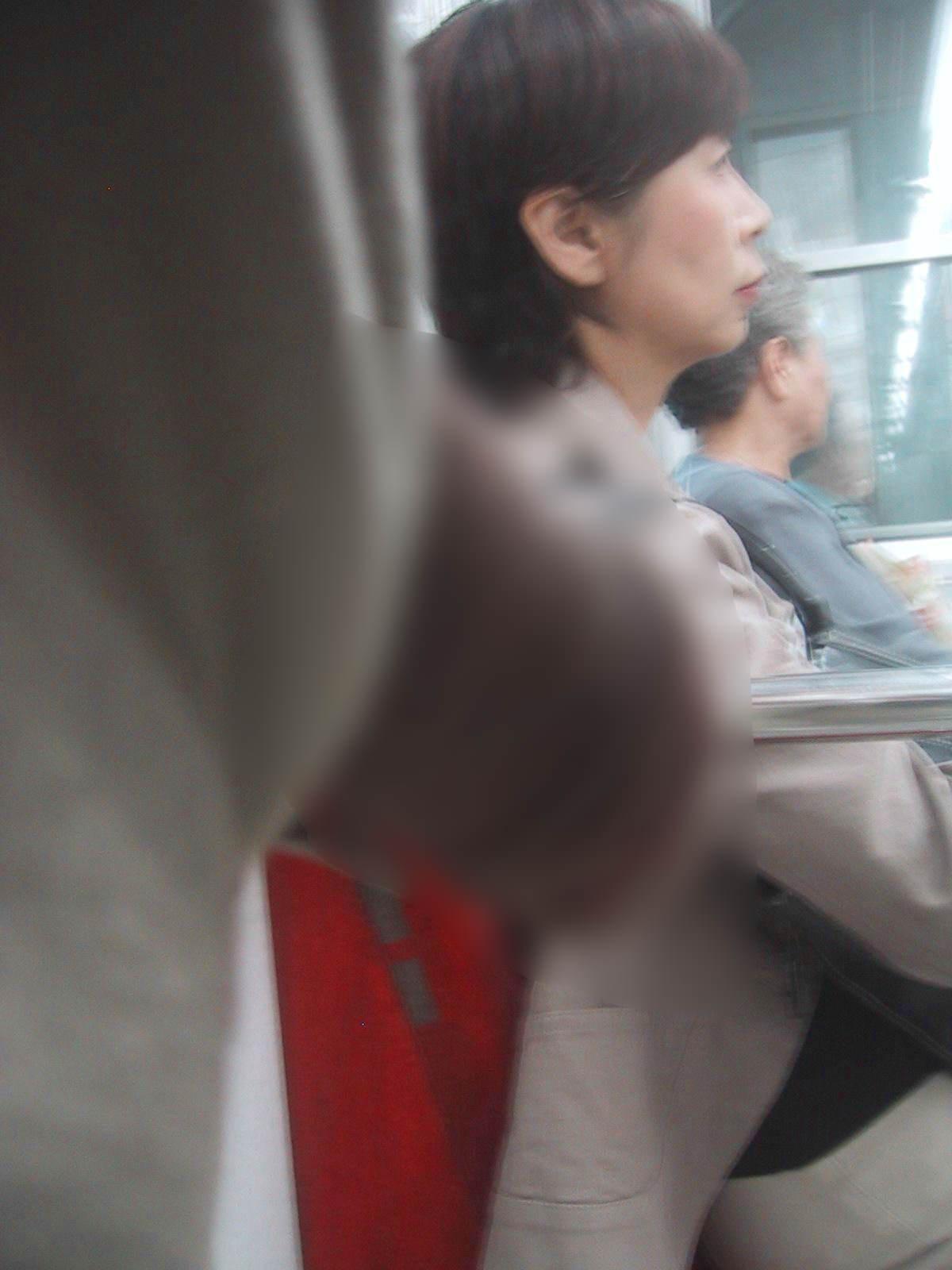 電車でちんこ出して痴漢するガチでヤバい奴現るwwwwwwwwww 0670