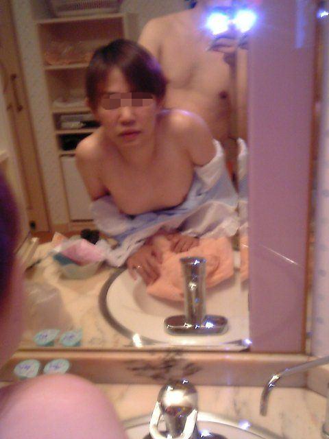 彼女の立ちバック姿がエロ可愛くて大好きwww鏡前で立ちバックハメ撮りだぁーwww 2927