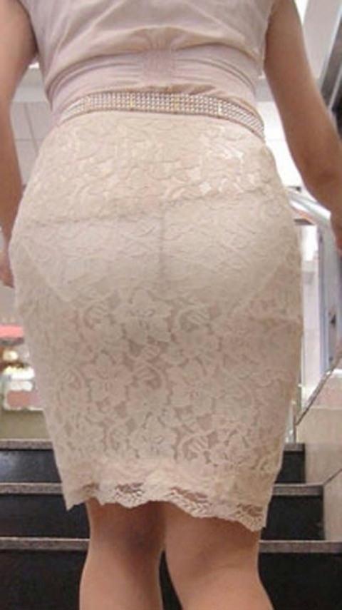 街で女のお尻を直視するのがワイの嗜み!高確率で透けパンツに出会えるぞぉーwww 1159