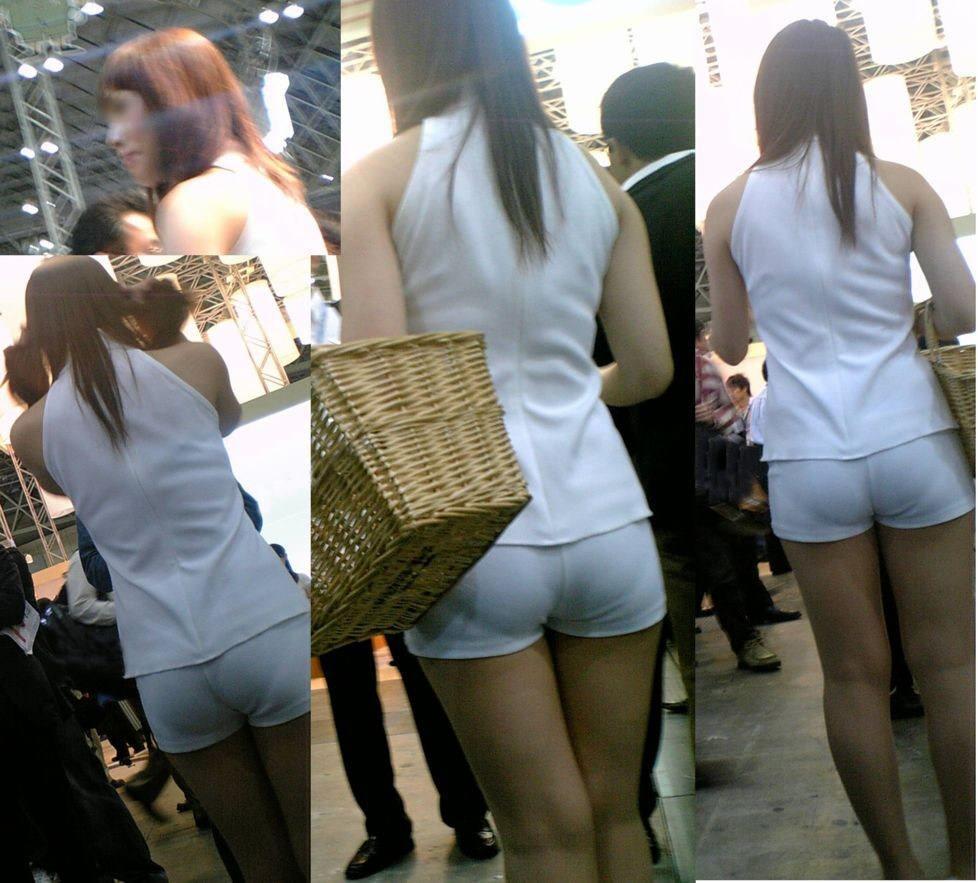 街で女のお尻を直視するのがワイの嗜み!高確率で透けパンツに出会えるぞぉーwww 1161