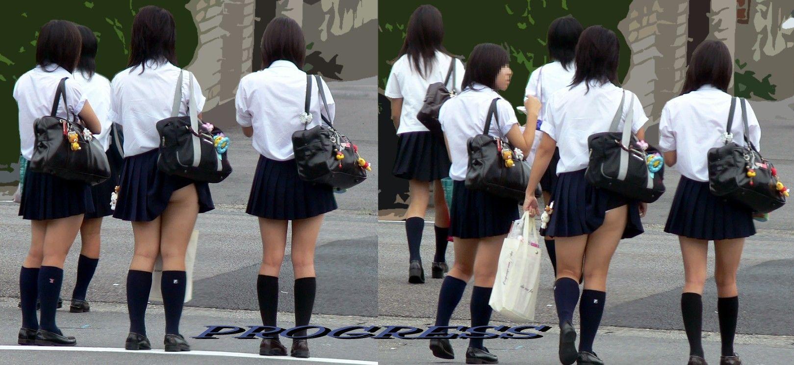 歩くパンティことミニスカJKの街撮り画像をくださいwwwwwwww blog import 51a71479304d5