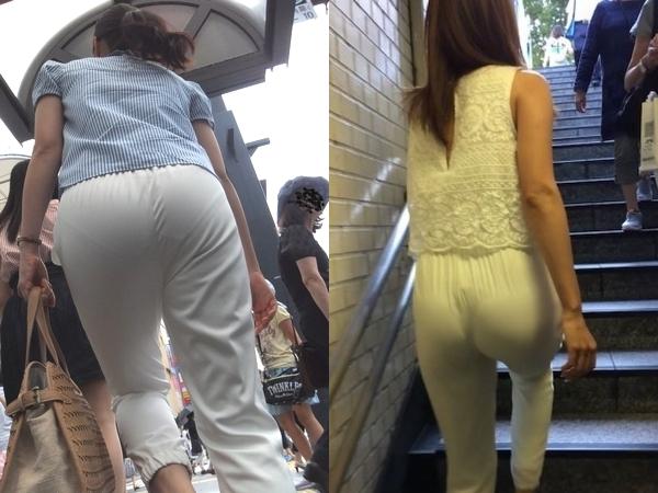 街行く女性はパンツスタイルのお尻のエロさを隠しきれてないぞぉーwwwパンティーすけすけだから拝み放題だぁーwww 01 25