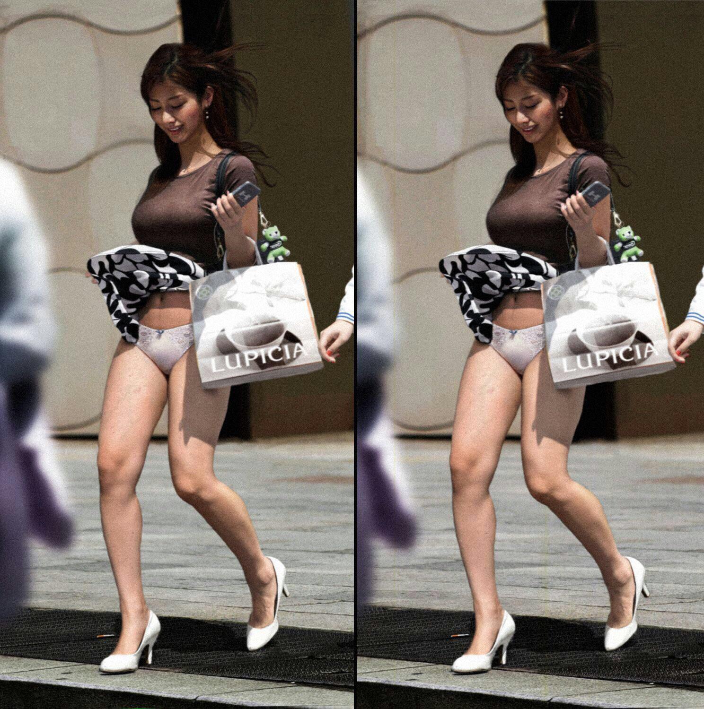 エチエチまんさん街撮りしたら、スカートがめくれてTバックが現れるwwwwwwwwwww vQBiTpI