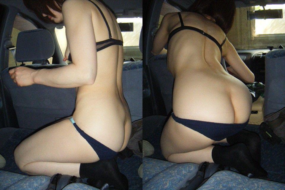 車乗ってるとムラムラするカップルが我慢できずにカーセックス!!!!!! 14228