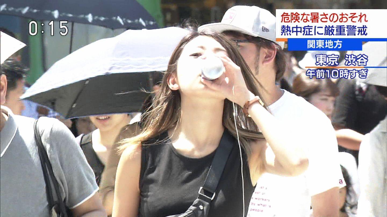 テレビに映った素人女性ってだけで抜けちゃうキャプ画像!!!!!!!!! 2011
