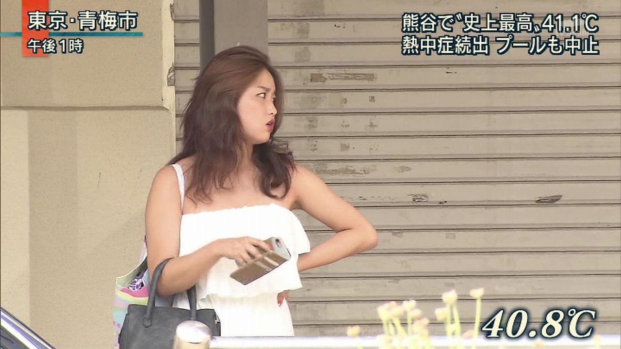 テレビに映った素人女性ってだけで抜けちゃうキャプ画像!!!!!!!!! 2013