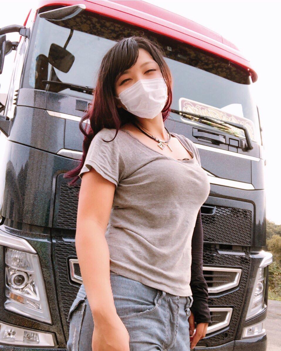 トラック運転手のまんさん、巨乳過ぎておっぱいがエッチすぎるwwwwwwwwwwwwwwww sYz60Sq