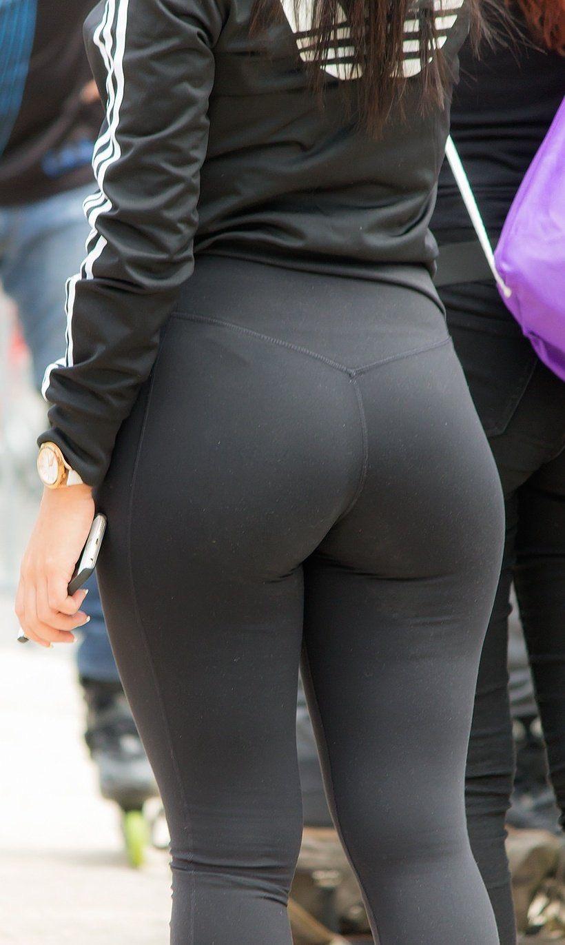 スパッツとかレギンス履いてる女体に視線行ってしまう街撮りエロ画像 gk210