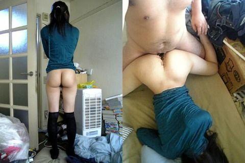 彼氏がおふざけで撮ったエッチな彼女の流出素人エロ画像 031003f6