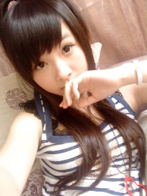 アジアン美女の自画撮り素人エロ画像 40419d7f