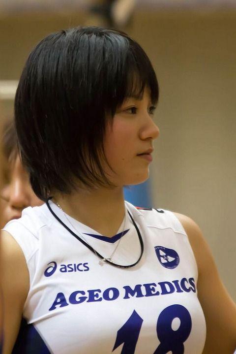 女子バレー吉村志穂のおっぱいが巨乳なエロ画像 4a92f608