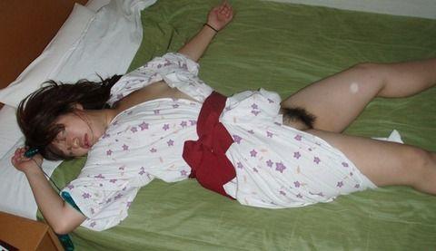 不倫旅行でセフレが流出させた人妻の浴衣姿の素人エロ画像 78cc42cc