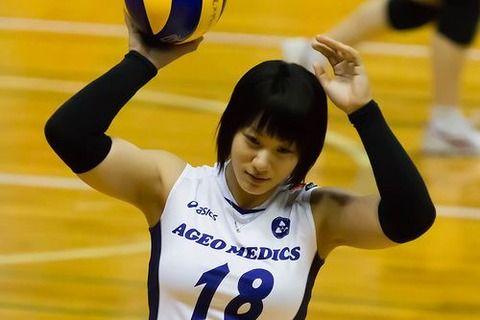 女子バレー吉村志穂のおっぱいが巨乳なエロ画像 8070e405