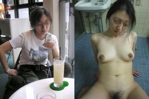 ガチ素人娘のセックス開始前開始中の卑猥さが分かるエロ画像 9aa41cee